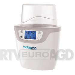 BabyOno Elektroniczny podgrzewacz pokarmu i sterylizator 2w1 z wyświetlaczem LCD | U NAS SKOMPLETUJESZ CAŁĄ WYPRAWKĘ | SZYBKA