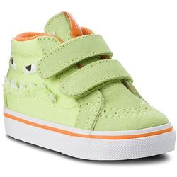 Sneakersy VANS - Sk8-Mid Reissue V VN0A348JU4R (Monster Face) Green/Russet Orange