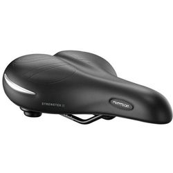 SiodeŁko rowerowe selleroyal premium moderate 60st freedom strenghtex Żel + elastomer czarny