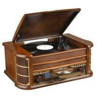 Gramofony, Gramofon HYUNDAI RTC-513RIP Brązowy