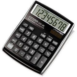 Kalkulator Citizen CDC-80BK BLACK Darmowy odbiór w 20 miastach!