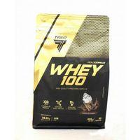 Odżywki białkowe, Trec Gold Core Whey 100 900 g Białko TRUSKAWKA