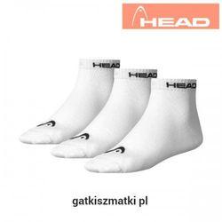 Skarpety HEAD Quarter białe