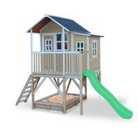 Domki i namioty dla dzieci, Domek cedrowy dla dzieci EXIT LOFT 550 /naturalny/