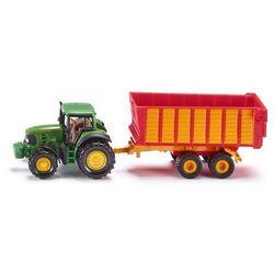 Pojazd SIKU Traktor John Deere z przyczepą