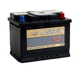 Akumulator ASSET 65Ah 550A EN PRAWY PLUS