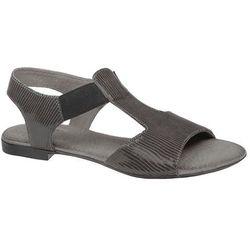 Sandały damskie VERONII 3994 Popielate - Multikolor ||Grafitowy ||Popielaty ||Szary