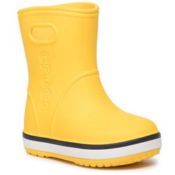 Kalosze CROCS - Crocband Rain Boot K 205827 Yellow/Navy