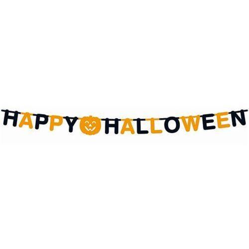 Pozostałe wyposażenie domu, Girlanda Happy Halloween - 350 cm - 1 szt.