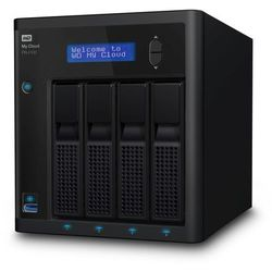 Serwer plików NAS WD My Cloud PR4100 8 TB ( WDBNFA0080KBK )