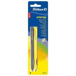 Długopis Energy 1mm niebieski 2szt K21 PELIKAN