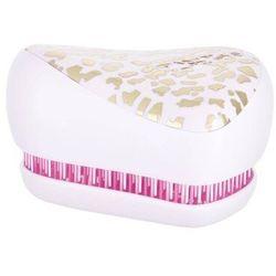 Tangle Teezer Compact Styler szczotka do włosów 1 szt dla kobiet Gold Leaf Pink