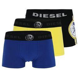DIESEL Bokserki niebieski / żółty / czarny