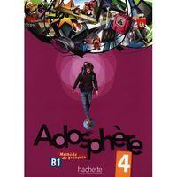 Książki do nauki języka, Adosphere 4 methode de francais + Cd audio (opr. miękka)