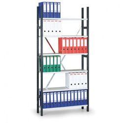 Regał archiwalny Variant, 2190x1000x300 mm, ocynkowane półki, podstawowy