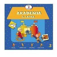 Książki dla dzieci, Akademia 5-latka. Świat malucha (opr. miękka)