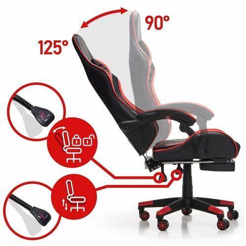Fotele dla graczy, Fotel gamingowy NORDHOLD - FENRIR - czerwony
