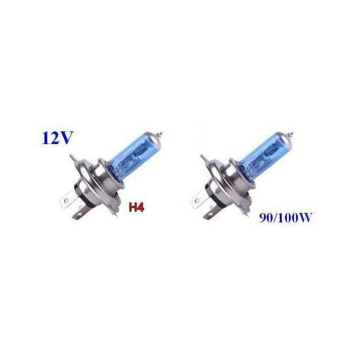 Żarówki ksenonowe samochodowe, Żarówki (2szt.) Samochodowe H4 (12V) Xenon H.I.D. Blue Vision (moc 100/90W) - Homologowane.