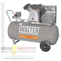 WALTER Sprężarka tłokowa żeliwna 10 bar GK 420-2,2/100