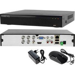 Rejestrator monitoring 4 kanałowy hybrydowy LV-XVR44S