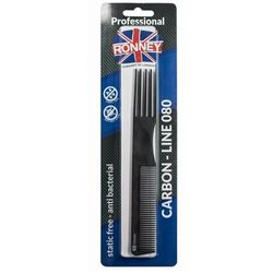 Ronney CARBON COMB LINE 080 Profesjonalny grzebień (080)