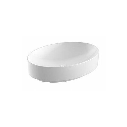 Umywalki, Koło Variform 55 x 40 Umywalka nablatowa VARIFORM KOŁO