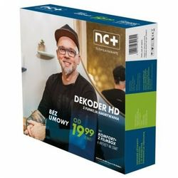 Dekoder NC+ ITI VISION 2851S z usługą telewizja na kartę (110 kanałów,6 m-cy na start z Filmbox)