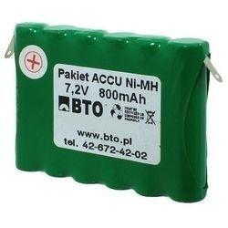 Akumulator NiMH AAA 7.2V 0.8Ah 6S1P