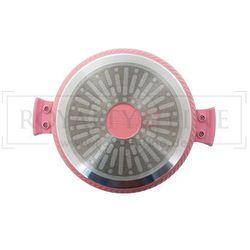 10 Elem. Zestaw Garnków z Powłoką Ceramiczną - RL-LS1010C PINK