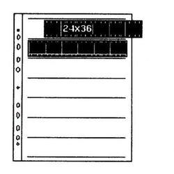 Kaiser Folia na negatywy acetanowa 24x36 25szt