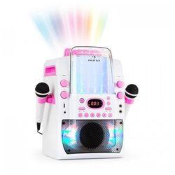 Kara Liquida BT Zestaw karaoke show świetlne fontanna Bluetooth biały/różow