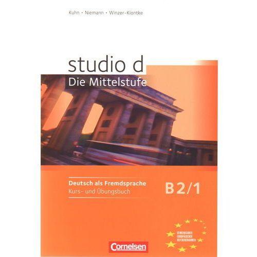 Książki do nauki języka, Studio d B2 Die Mittelstufe Band 1 (Podręcznik z ćwiczeniami + CD) (opr. miękka)