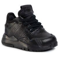Buty sportowe dla dzieci, Buty adidas - Nite Jogger El I EG6991 Cblack/Cblack/Cblack