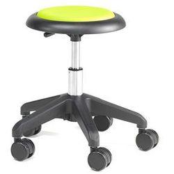 Krzesło na kółkach MICRO, zielony, 380-450 mm