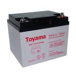 Akumulator żelowy Toyama 12V 45Ah NPG45-12 M6