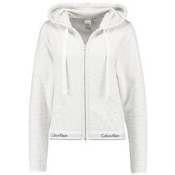 Calvin Klein Underwear FULL ZIP HOODIE Koszulka do spania snow heather
