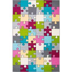 Dywan Agnella Funky Top Super Puzzle Cyklamen 100x170