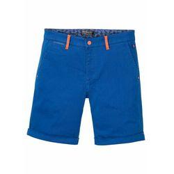 Bermudy ze stretchem Regular Fit, bawełna organiczna bonprix lazurowy niebieski