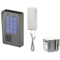 Domofony i wideodomofony, Zestaw jednorodzinny Radbit Cyfrowy panel domofonowy wielorodzinny z szyfratorem KEC-4 NT MINI GD36
