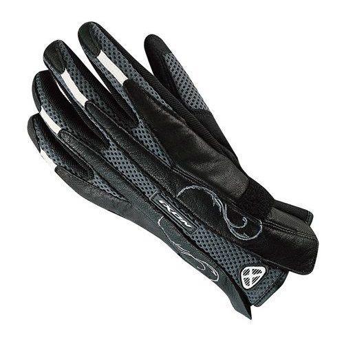 Rękawice motocyklowe, RĘKAWICE IXON LADY RS GLOSS BLACK/GREY