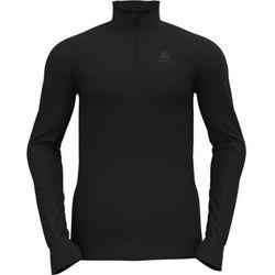 Odlo Active Warm Top Turtle Neck L/S Half-Zip Men, czarny XL 2021 Koszulki bazowe termiczne i narciarskie