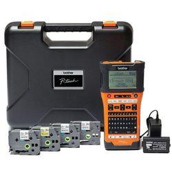Drukarka etykiet Brother PT-E550WSP zestaw walizkowy 4 taśmy | KUP z zamiennikami i oszczędzaj! - ZADZWOŃ 730 811 399