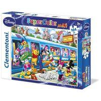 Puzzle, Puzzle 104 maxi Disney Pociąg