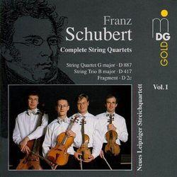 Leipziger Streichquartett - Schubert: String Quartets