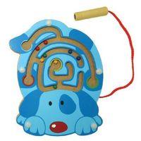 Zabawki z drewna, Drewniana zabawka magnetyczna Pies