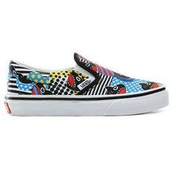 buty VANS - Classic Slip-On (Shark Week)Phin/True Wht (V9D)