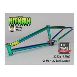 "Rama BMX Mafiabikes Hitmain 20.8"" Green Fuel"