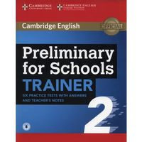 Książki do nauki języka, APT Preliminary for Schools Trainer 2 - Cambridge University Press (opr. miękka)