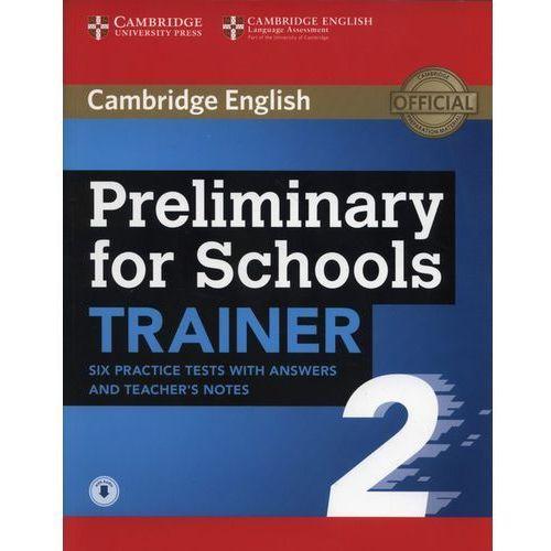 Książki do nauki języka, APT Preliminary for Schools Trainer 2 - Cambridge University Press (opr. miękka)
