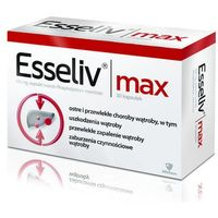 Leki na wątrobę, Esseliv Max 0,45g x 30 kapsułek